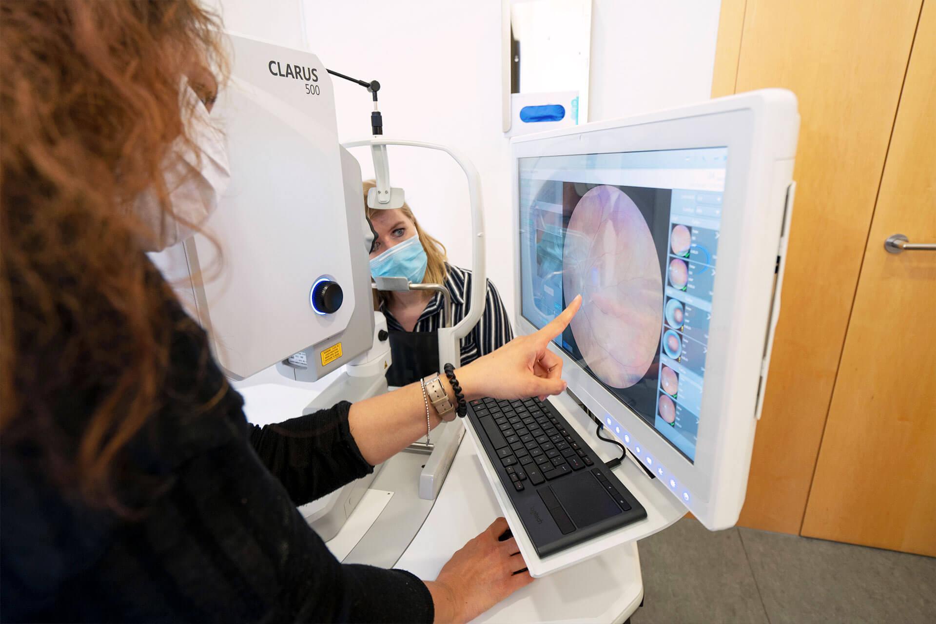 Augenarztpraxis Leonberg Diagnostik