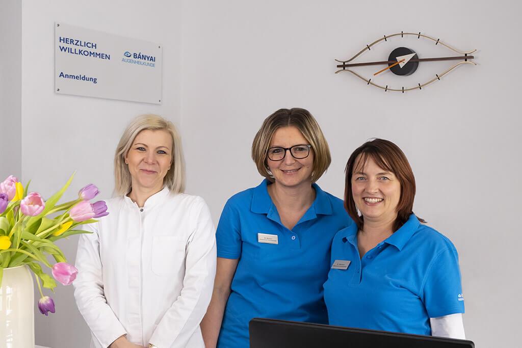 Augenarztpraxis Weil der Stadt Team