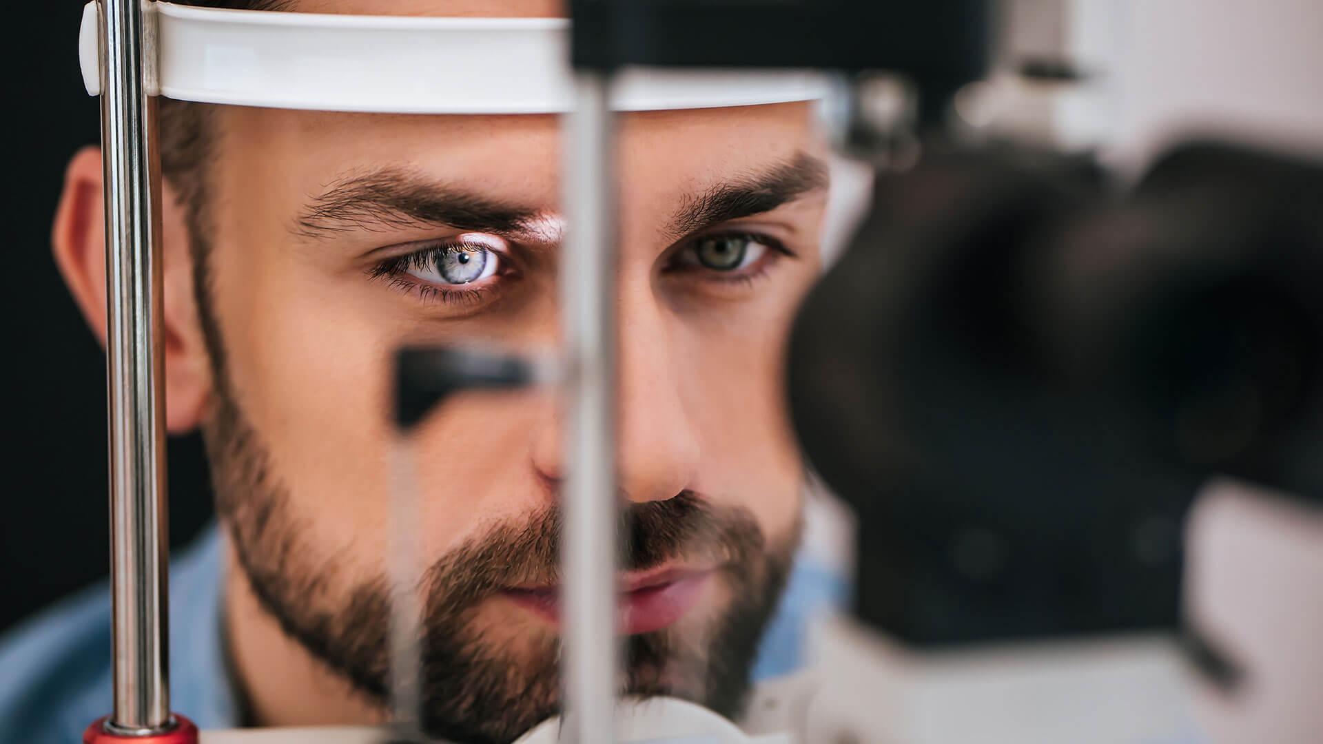 Bei akuten Beschwerden den Augenarzt kontaktieren