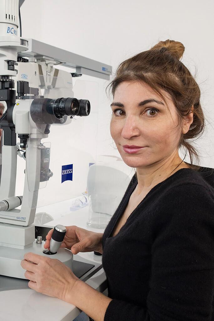 Erfahrung im Bereich Augenheilkunde