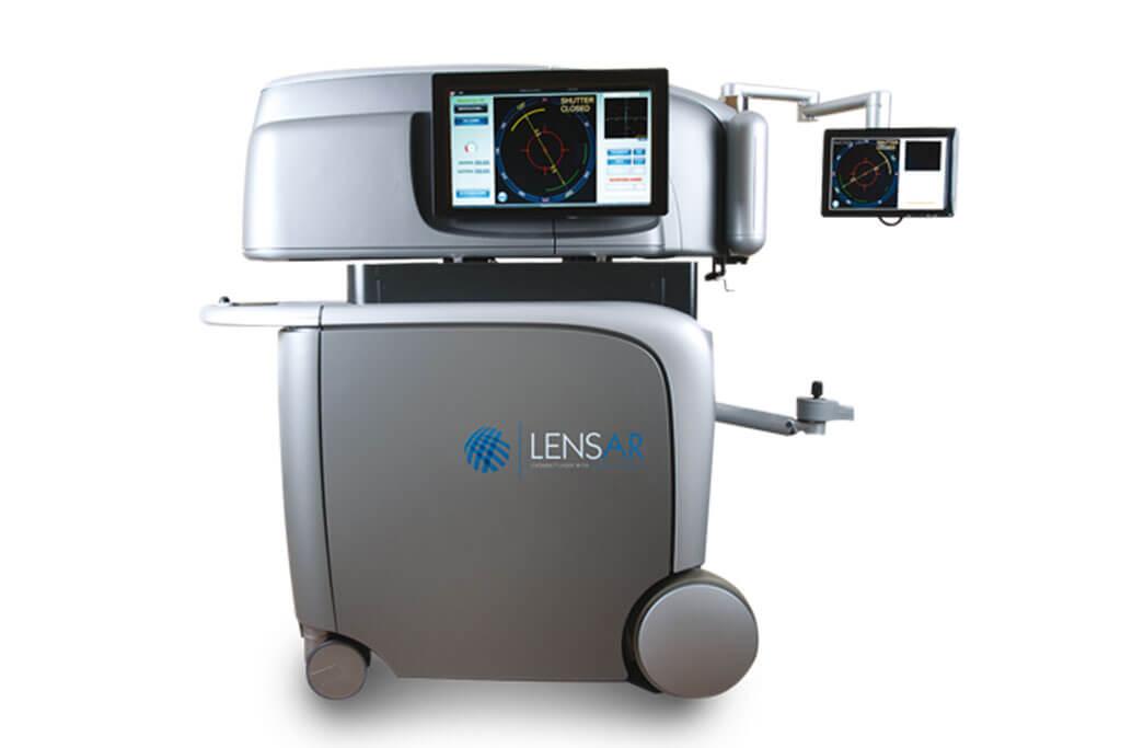 Einzigartige Ergebnisse beim Linsenaustausch durch den LENSAR Laser