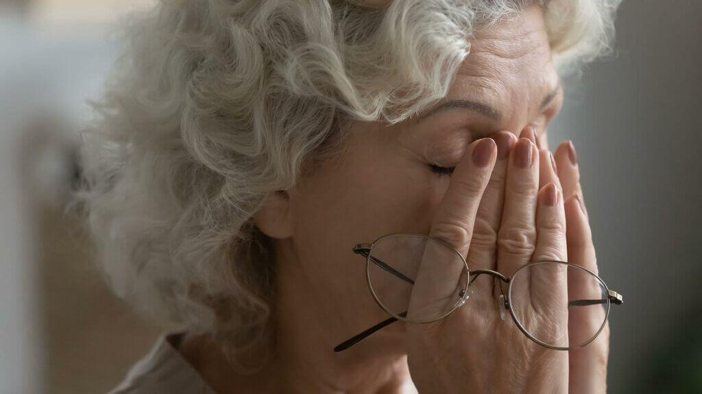 Brille schmerzt