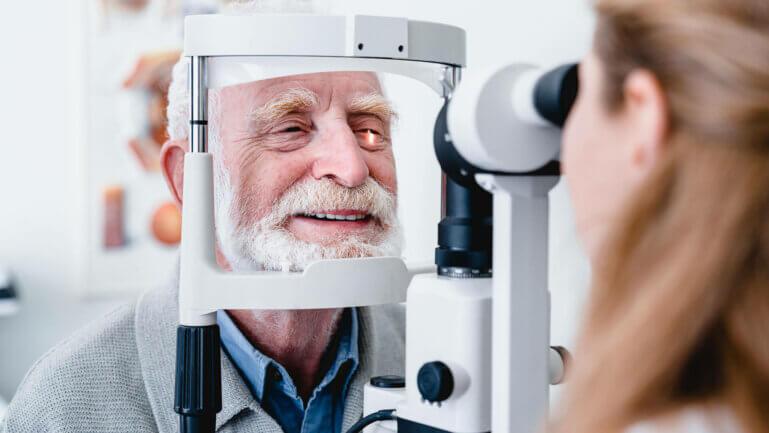 Grauer Star Vorsorge – ab 50 Jahren jährliche Kontrolle beim Augenarzt