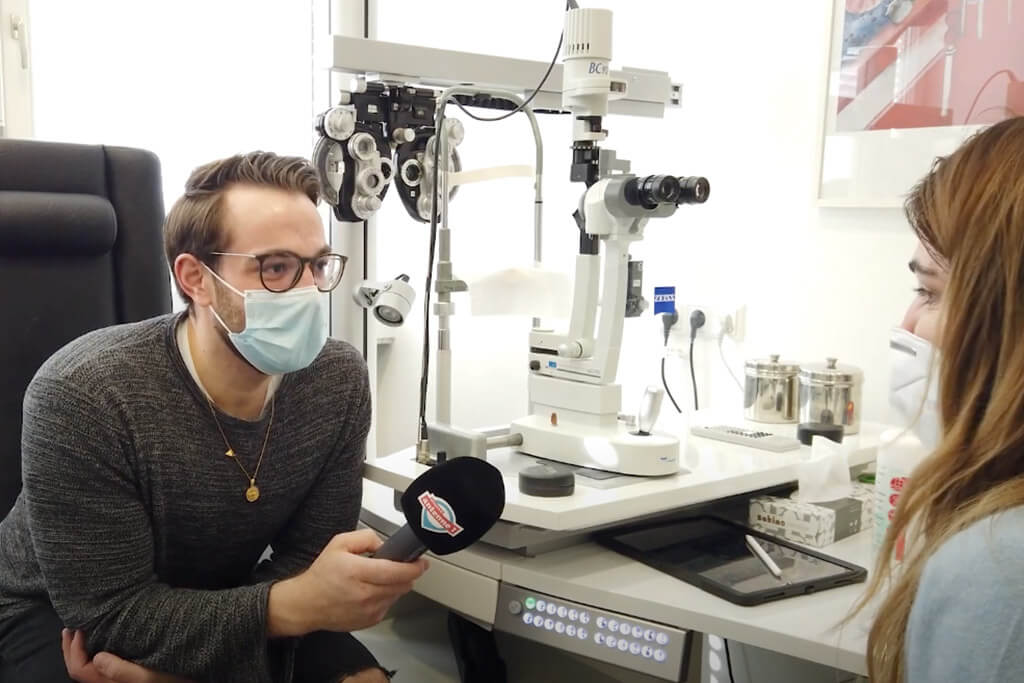 Augen lasern bei Nico Auer - Erfahrungsbericht