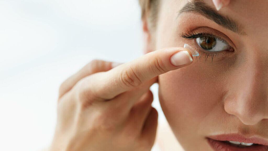 Kontaktlinsen zur Korrektur von Fehlsichtigkeiten
