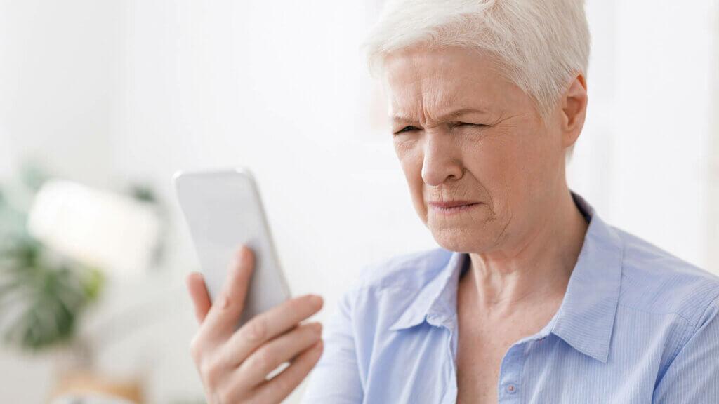 Dioptrien bei Altersweitsichtigkeit (Presbyopie)
