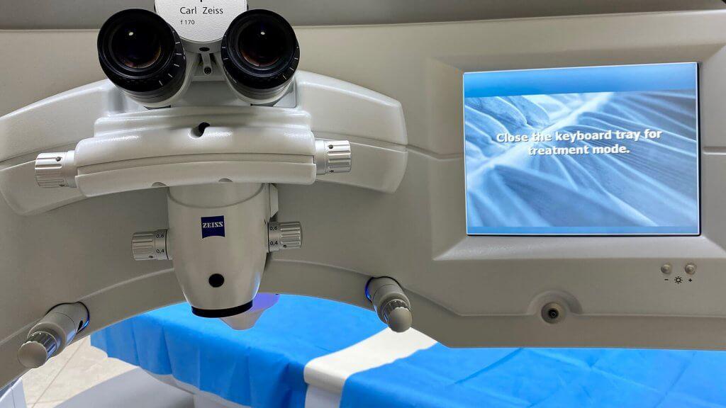 Augen lasern mit der Femto Lasik