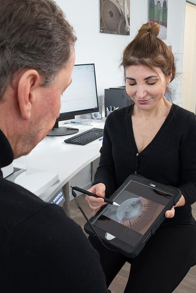 Voruntersuchung - Augen lasern