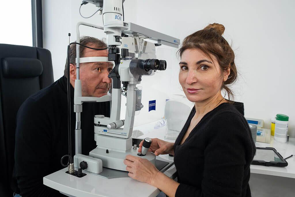 Augen lasern und Augenarzt in Stuttgart - Doctor-medic Bányai